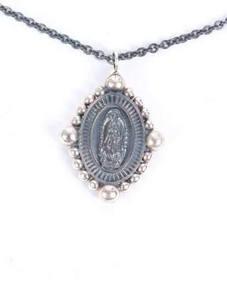 Laura Cantu Virgin De Guadalupe Necklace