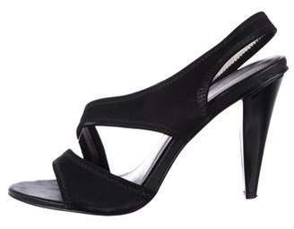 Calvin Klein Elasticized Slingback Sandals