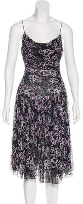 Diane von Furstenberg Silk Halter Dress