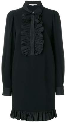 Stella McCartney ruffle-trimmed shirt dress