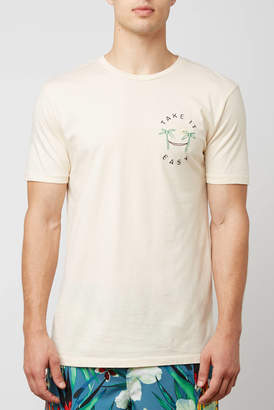 Altru Take It Easy Embroidered Graphic Tee