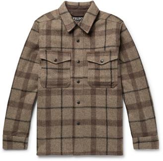 Filson Checked Mackinaw Wool Shirt Jacket