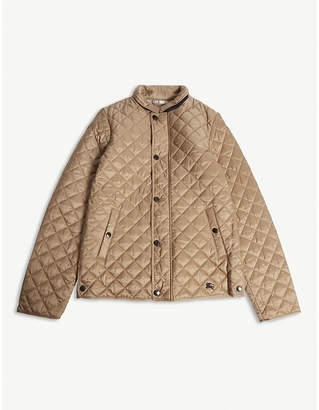 Burberry Lyle quilted coat 3-14 years