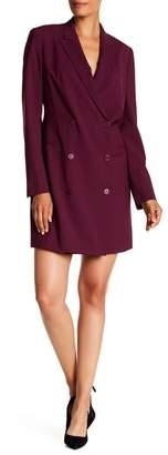 Theory Wool Blend Blazer Styled Dress