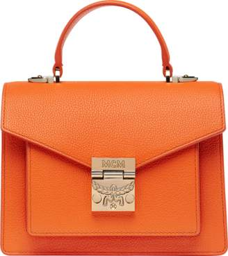 MCM Patricia Satchel In Grained Leather