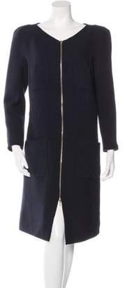 Leroy Veronique Wool Long Sleeve Dress