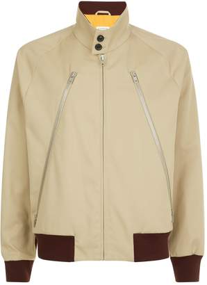 Maison Margiela Mixed Media Zip Jacket