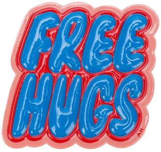 Anya Hindmarch Free Hugs sticker