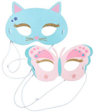 H&M 2-pack fancy dress masks - Turquoise