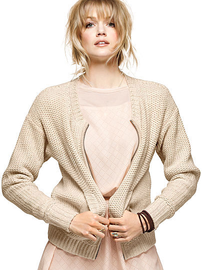 Victoria's Secret Textured Bomber Jacket