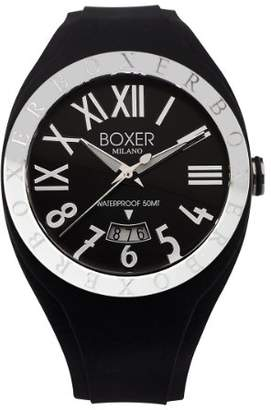 Boxer Milano Men's Quartz Plastic and Rubber Casual Watch