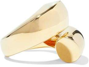 Elizabeth and James Moore Gold-Tone Ring
