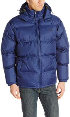 Avia Men's Puffer Jacket with Removable Hood