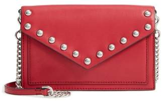 Rebecca Minkoff Blythe Studded Leather Crossbody Wallet