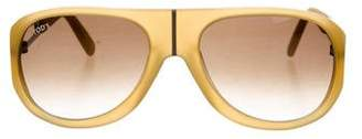 Tod's Matte Logo Sunglasses