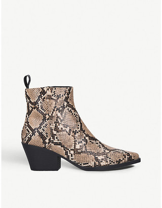 Kurt Geiger Temmy leather ankle boots