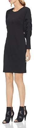 Vince Camuto Ruched-Sleeve Dress