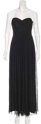 Calvin Klein Strapless Pleated Dress