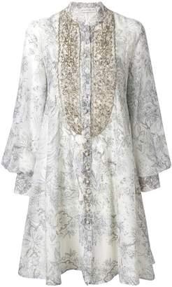 Etro embellished patterned dress