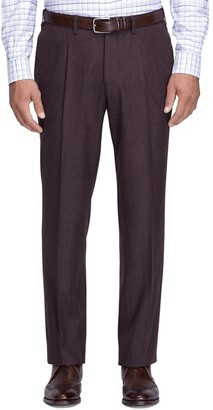 Brooks Brothers Regent Fit Flannel Trousers