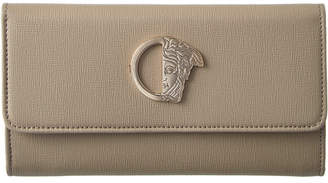 Versace Continental Leather Wallet