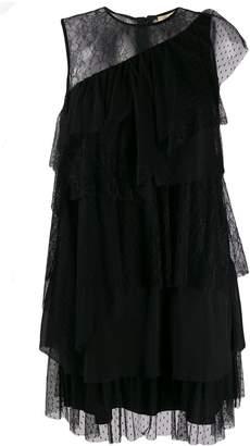 Liu Jo ruffled lace dress