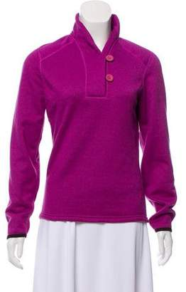 The North Face Fleece Button-Up Sweater