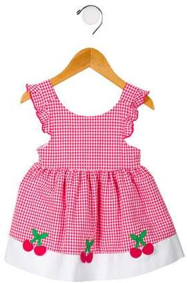 Florence Eiseman Girls' Gingham Overall Dress w/ Tags
