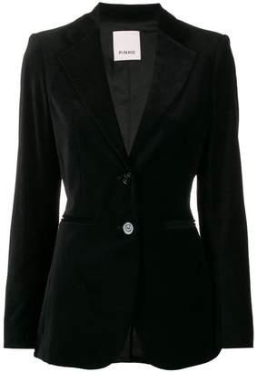 Pinko classic velvet blazer