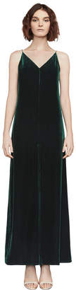 BCBGMAXAZRIA Malory Velvet Maxi Dress