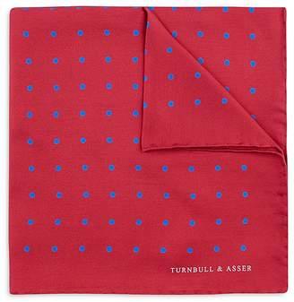 Turnbull & Asser Basic Color Dots Pocket Square