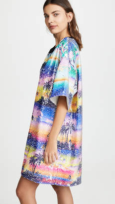 Ksenia Schnaider Hawaii Mixed Color Sequin Dress