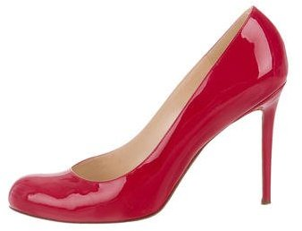 Christian Louboutin  Christian Louboutin Patent Leather Simple Pumps