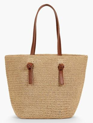 Straw Tote $69.50 thestylecure.com