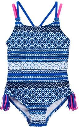 Tommy Bahama Printed Swimsuit (Big Girls)