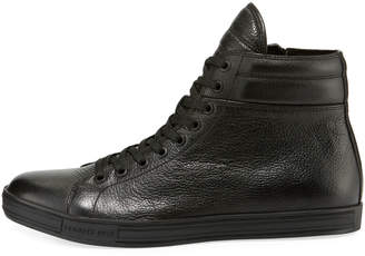 Kenneth Cole Men's Leather High-Top Sneakers