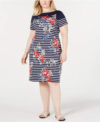 Karen Scott Plus Size Liberty Garden Dress