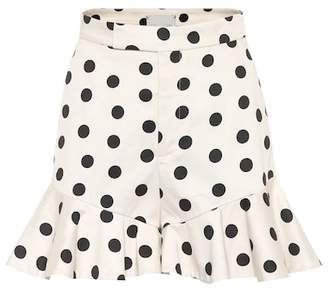 San Blas Johanna Ortiz Exclusive to mytheresa.com – polka-dot cotton shorts
