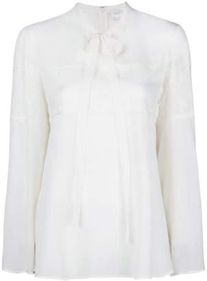 Giambattista Valli chest lace blouse