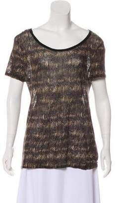 Isabel Marant Linen Printed top