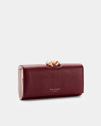 Ted Baker MUSCOVY Textured leather bobble matinee purse