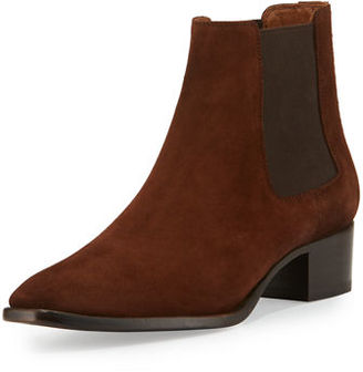 Frye Dara Suede Chelsea Boot $298 thestylecure.com