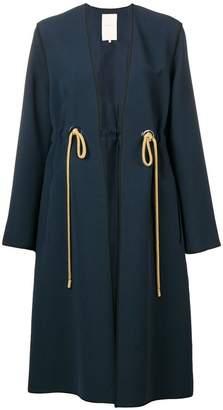 Roksanda belted-waist fitted coat