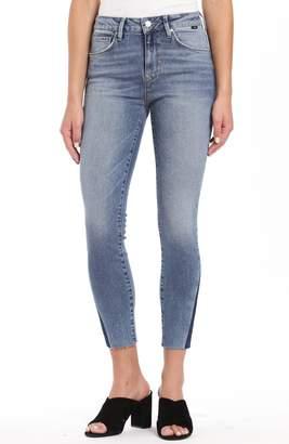 Mavi Jeans Tess High Waist Raw Ankle Skinny Jeans