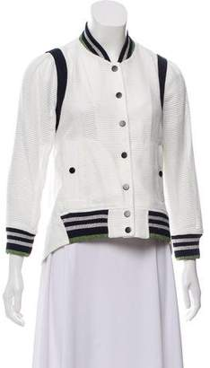 Veronica Beard Long Sleeve Casual Jacket