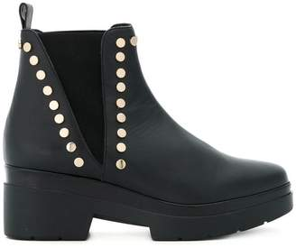 Albano studded chunky ankle boots