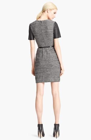 Jason Wu Belted Tweed Dress