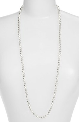 Women's Nadri Imitation Pearl Long Necklace $95 thestylecure.com