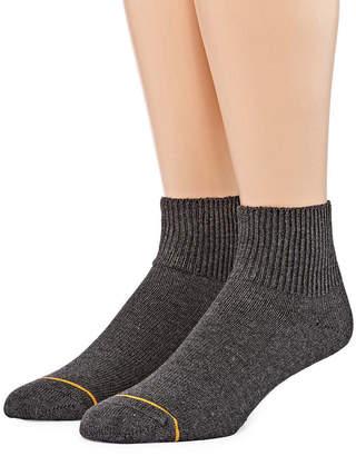 Gold Toe 2 Pair Non-Binding Quarter Socks - Men's