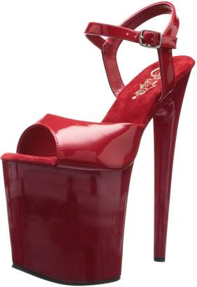 Pleaser USA Women's Flamingo-809 Ankle-Strap Sandal